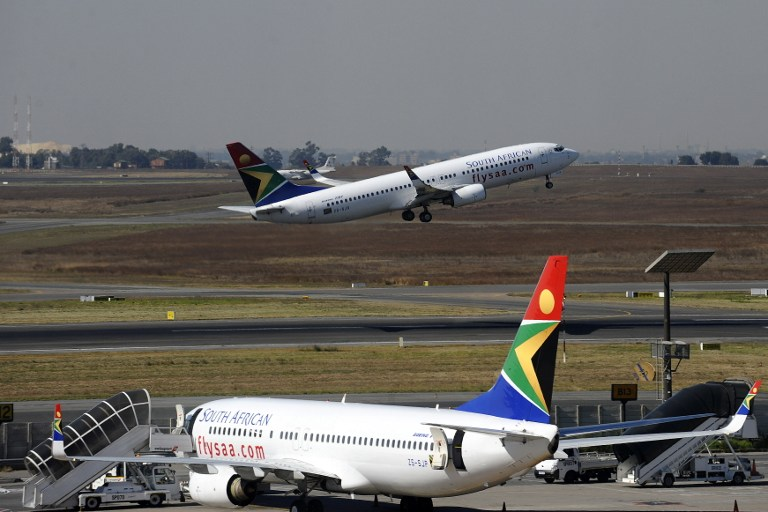 File: South African Airways will no longer fly to Blantyre in Malawi.
