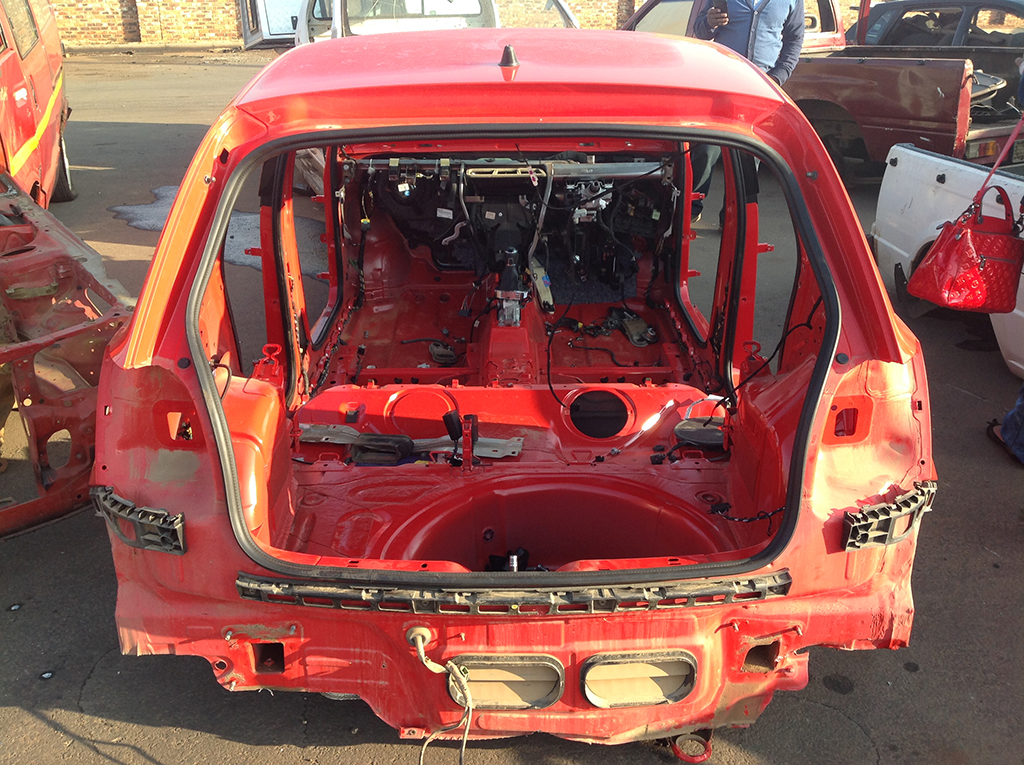 Must See Stolen Vw Polo Stripped Bare Enca