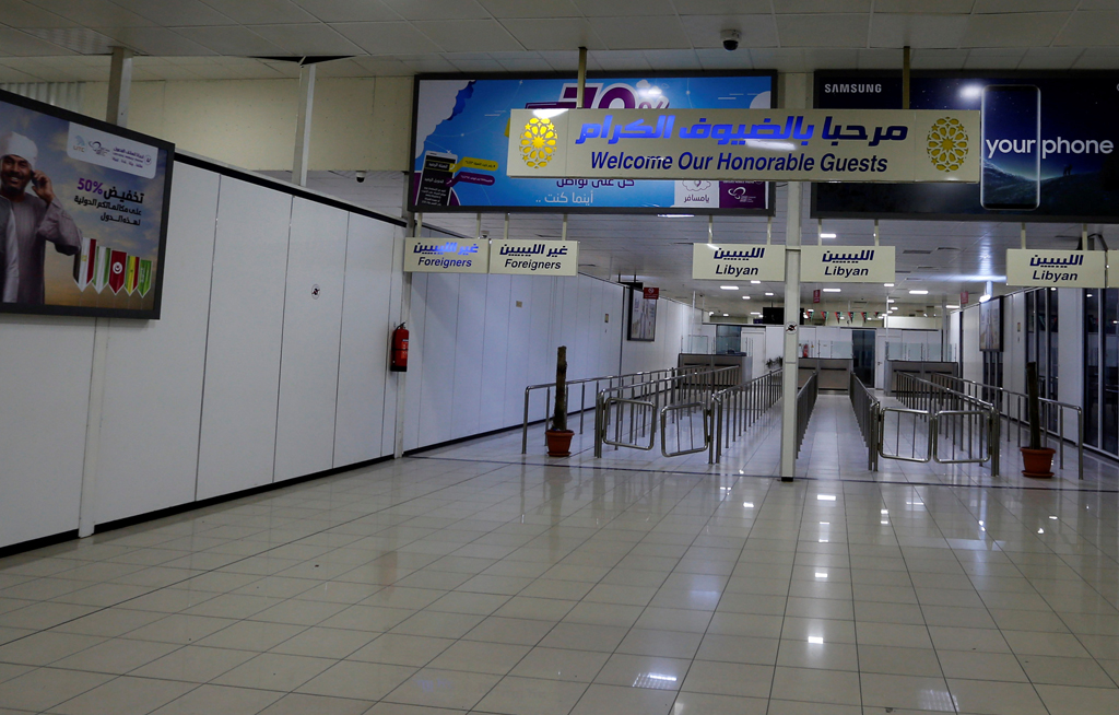 "File: Libya's civil aviation authority said it had started to coordinate ""a gradual resumption of flights"" with airlines."
