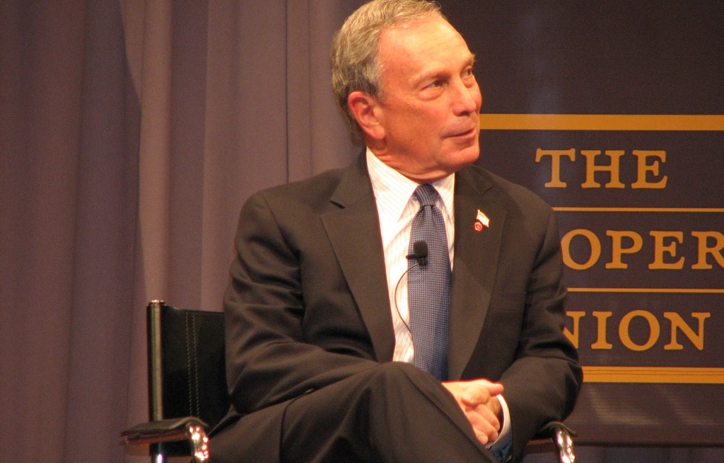 Bloomberg leads mass coalition declaring support for Paris