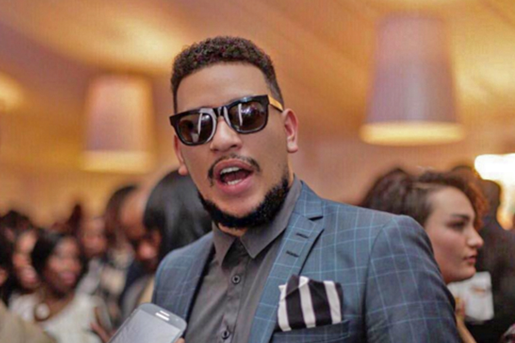 File: AKA had to cut his performance in Potchefstroom short after fans threw beer cans at him while he was on stage.