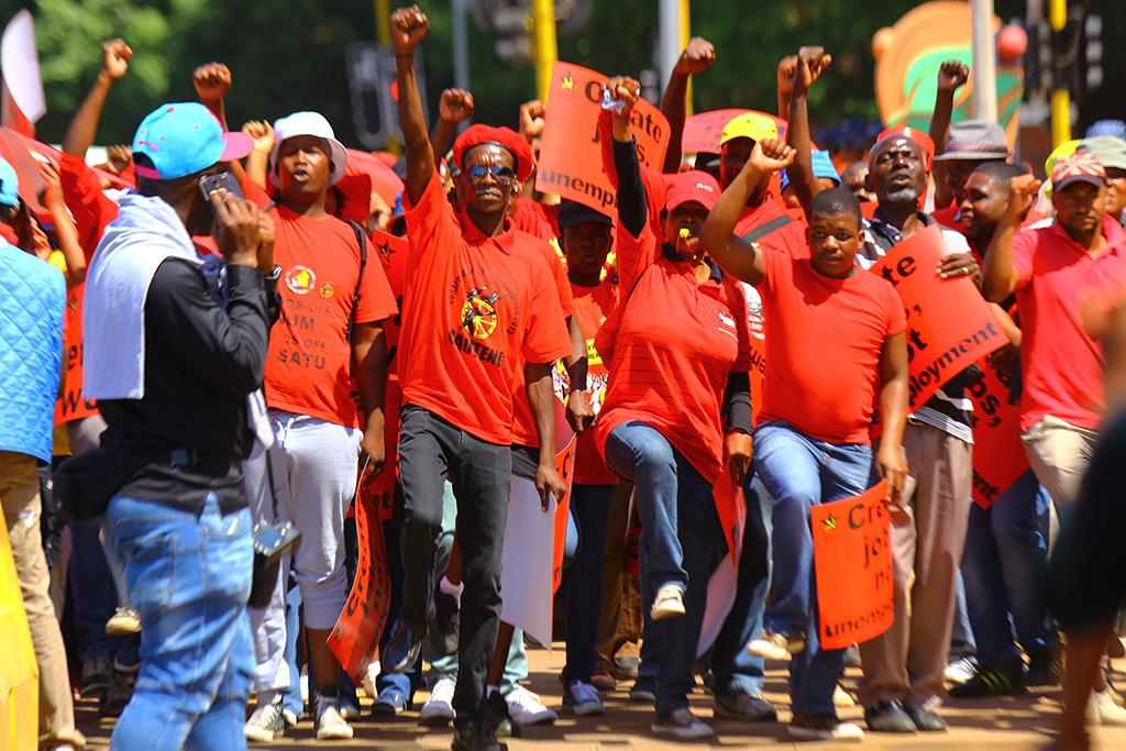 File: The federation is planning to march against the Gauteng e-tolls.