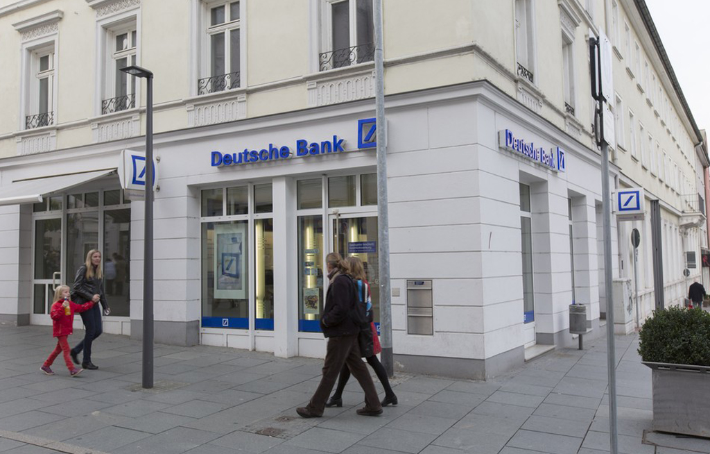 File: Deutsche Bank launched the restructuring on Sunday in Europe, outlining a plan that will see it dramatically scale back its investment bank.
