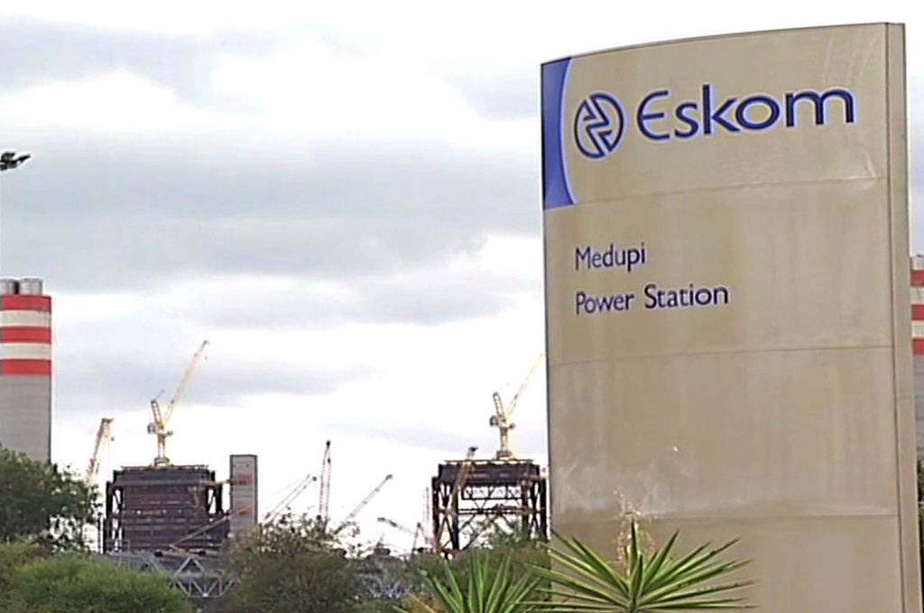 Eskom's Medupi Power Station near Lephalale in Limpopo.
