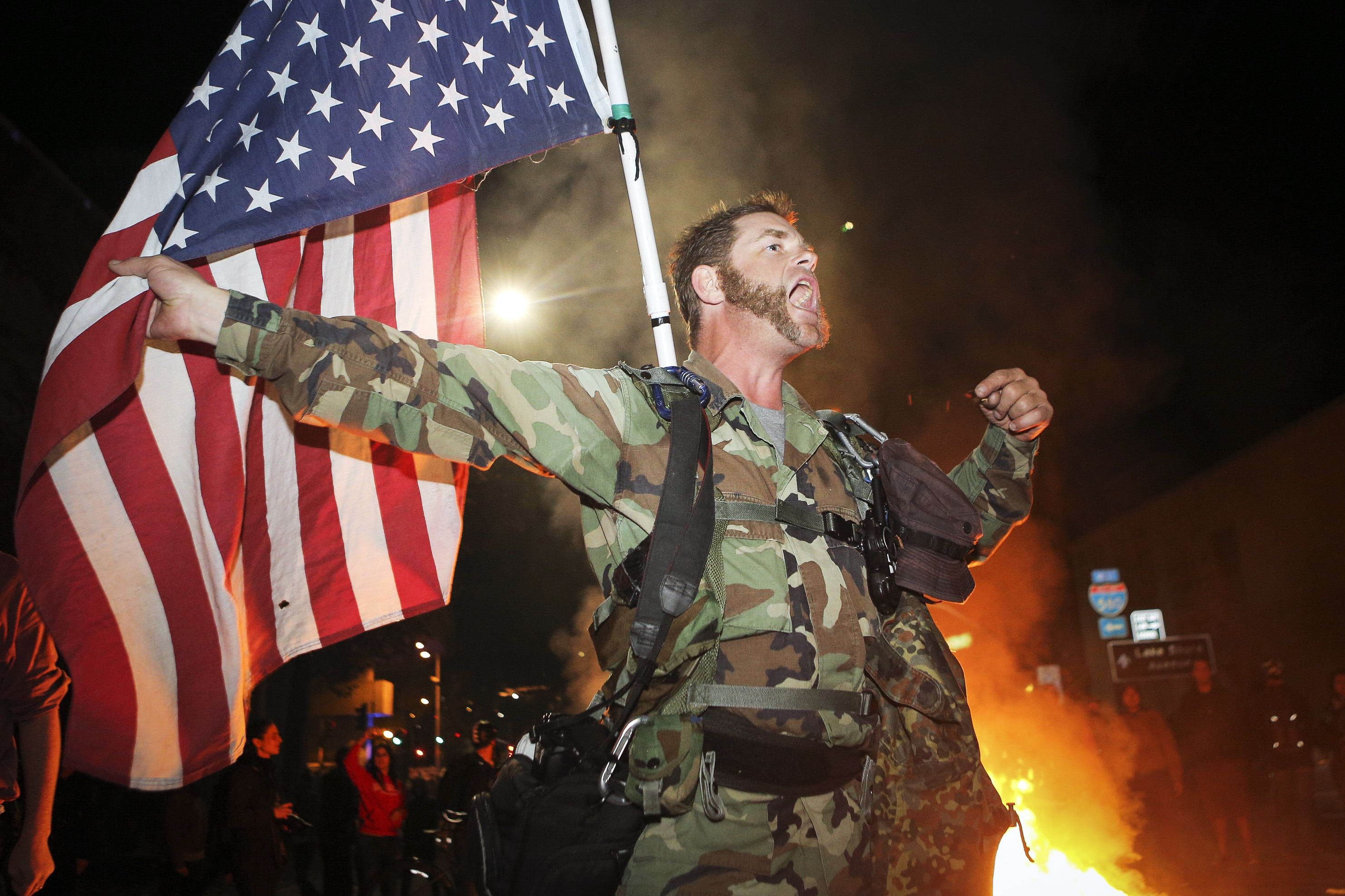 arrests made in ferguson as unrest explodes enca