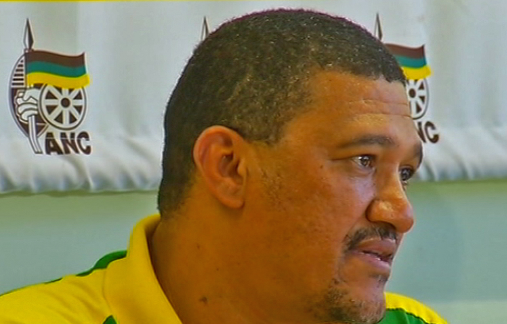 Marius Fransman was accused of inappropriately touching his personal assistant Louisa Wynand in 2016.