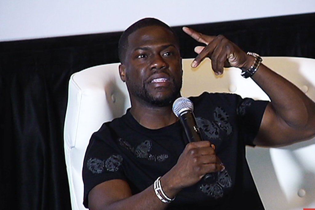 Popular comedian and actor Kevin Hart.