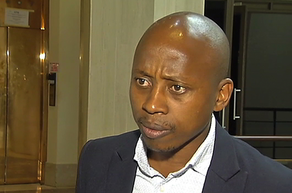 File: Andile Lungisa was found guilty of assault with intent to do grievous bodily harm after attacking a DA councillor during a scuffle in the Nelson Mandela Bay council in 2016.
