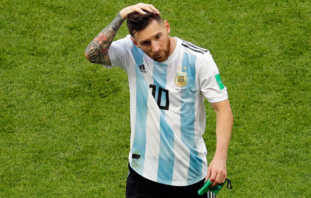 Messi is not a leader - Maradona
