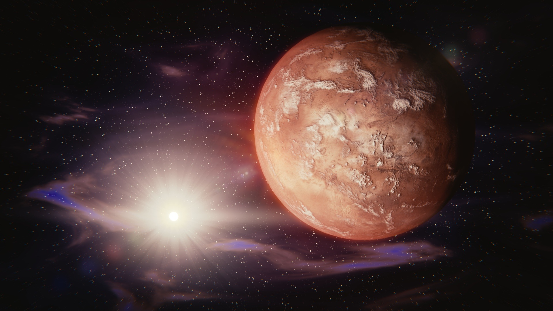 File: NASA said it wants to achieve a Mars landing in 2033.