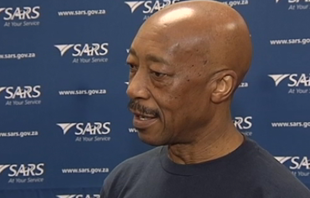 FILE: Suspended SARS Commissioner Tom Moyane is alleged to have requested help from a firm that was awarded a highly irregular contract.