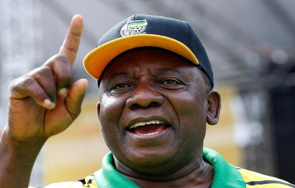 South Africa's Ramaphosa to repay campaign donation