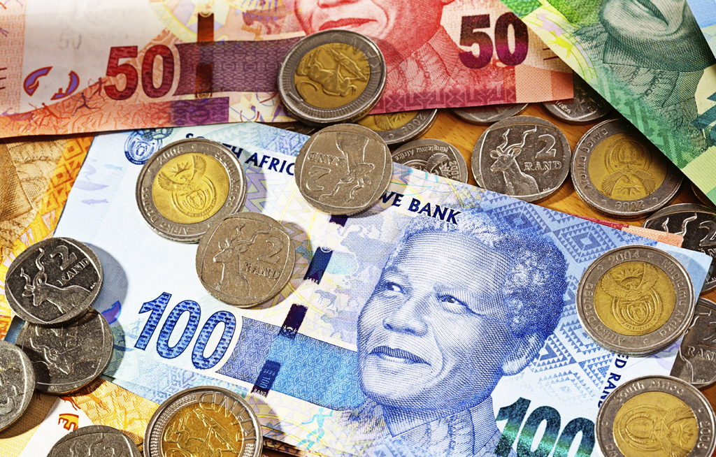 File: The rand remains the most volatile currency on a one-week basis, according to Bloomberg, although its volatility has eased from levels seen last week.