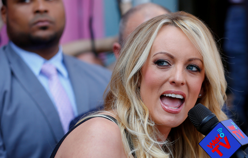 "File: Stormy Daniels said she would dedicate the tell-all -- entitled ""Full Disclosure"" -- to her young daughter."