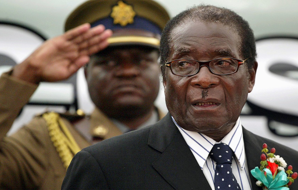 Robert Mugabe served as Prime Minster of Zimbabwe from 1980 to 1987 then as President from 1987 before stepping down in 2017.