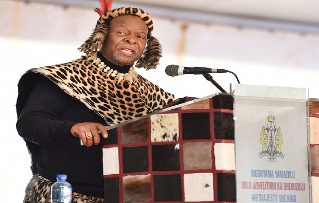 File: Zulu King, Goodwill Zwelithini KaBhekuzulu is mourning the death of one of his sons, Prince Butho.