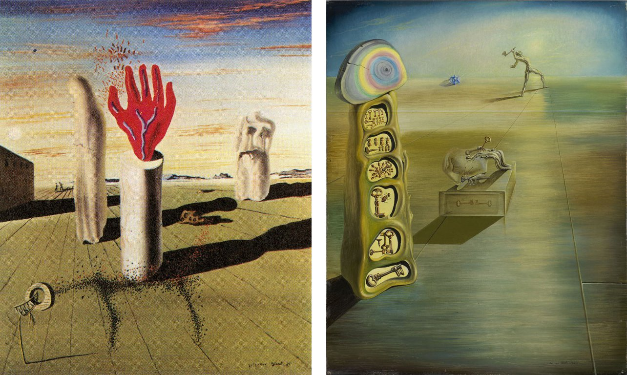 Experts find elusive dali paintings