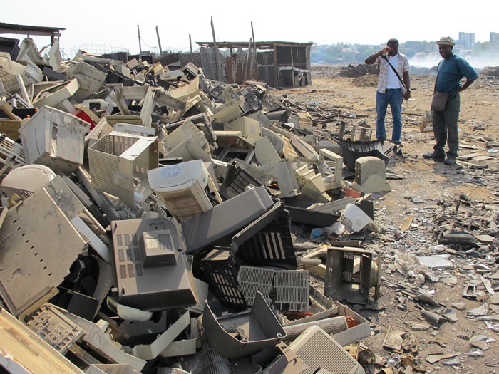 Image result for electronics scavengers africa