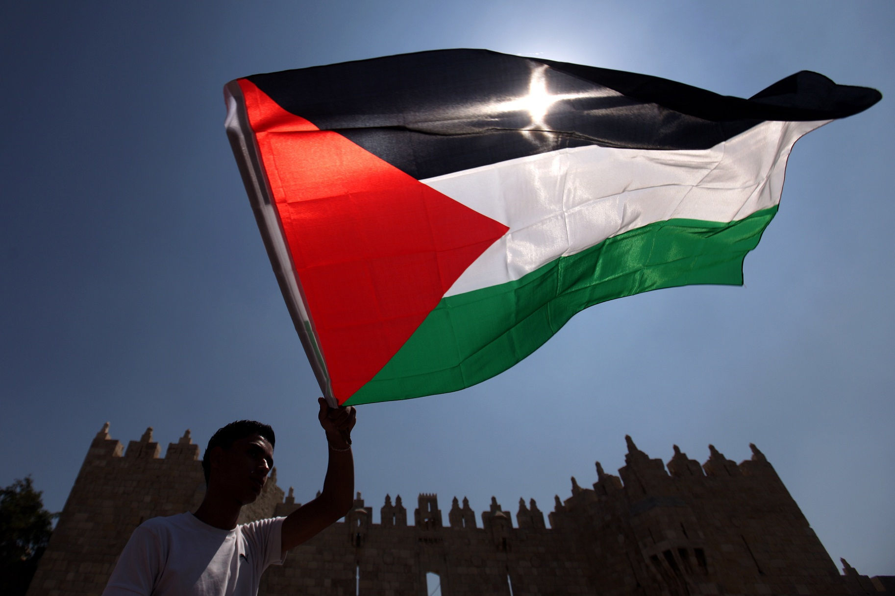 palestinian flag set to fly at un new york hq enca