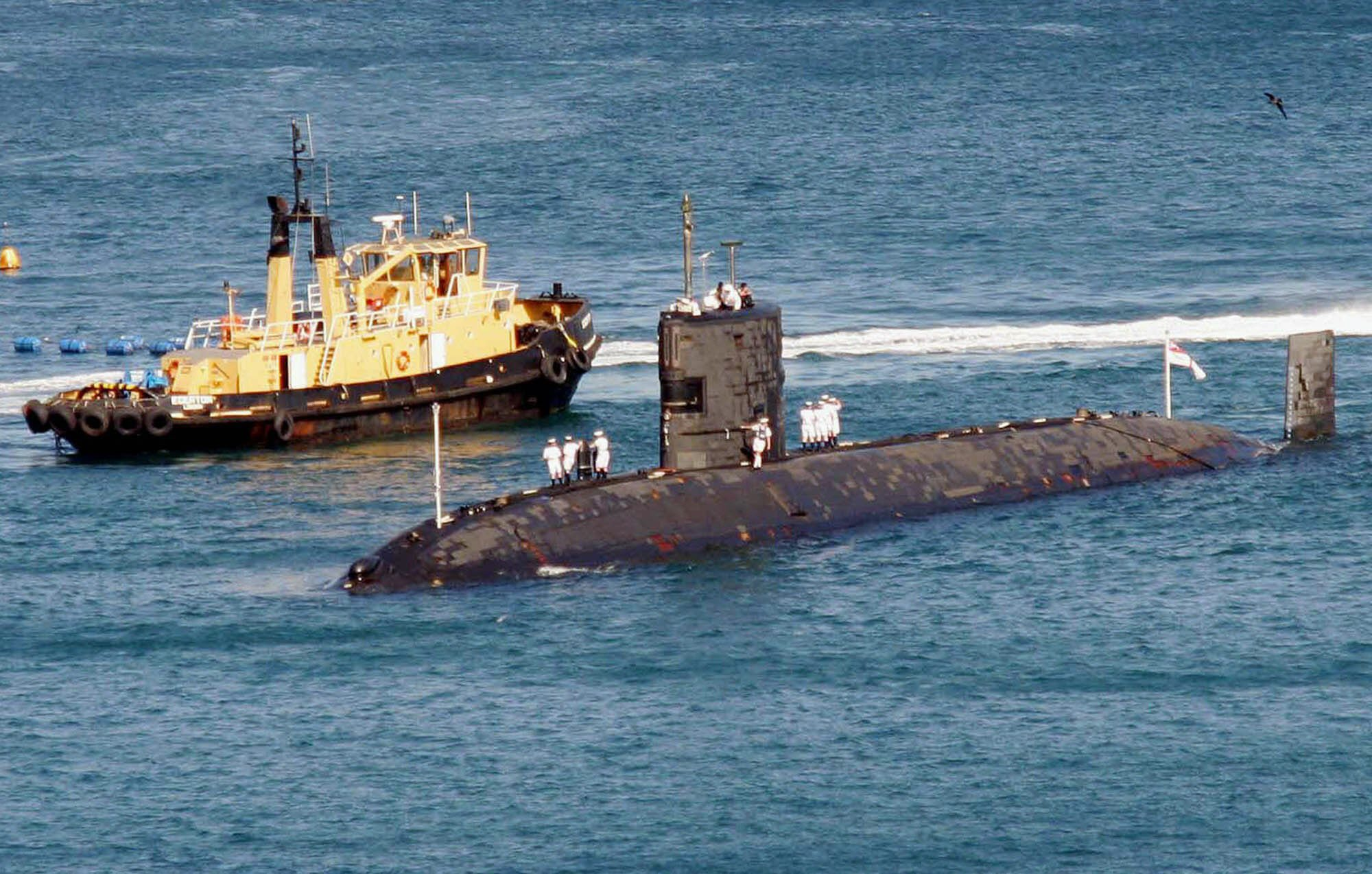 British nuclear sub to assist search for missing jet | eNCA