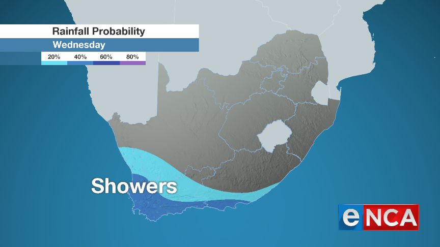 Rainfall for 11 September 2019