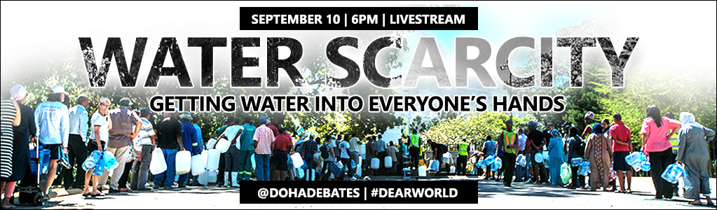 Water Scarcity GETTING WATER INTO EVERYONE'S HANDS | September 10 in Cape Town