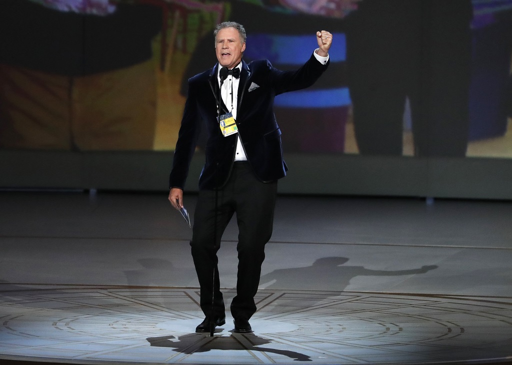 Presenter Will Ferrell for Outstanding Comedy Series. REUTERS/Mario Anzuoni