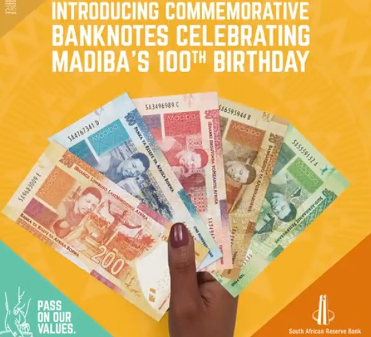Show Me The Money Sa Launches New Madiba Banknotes