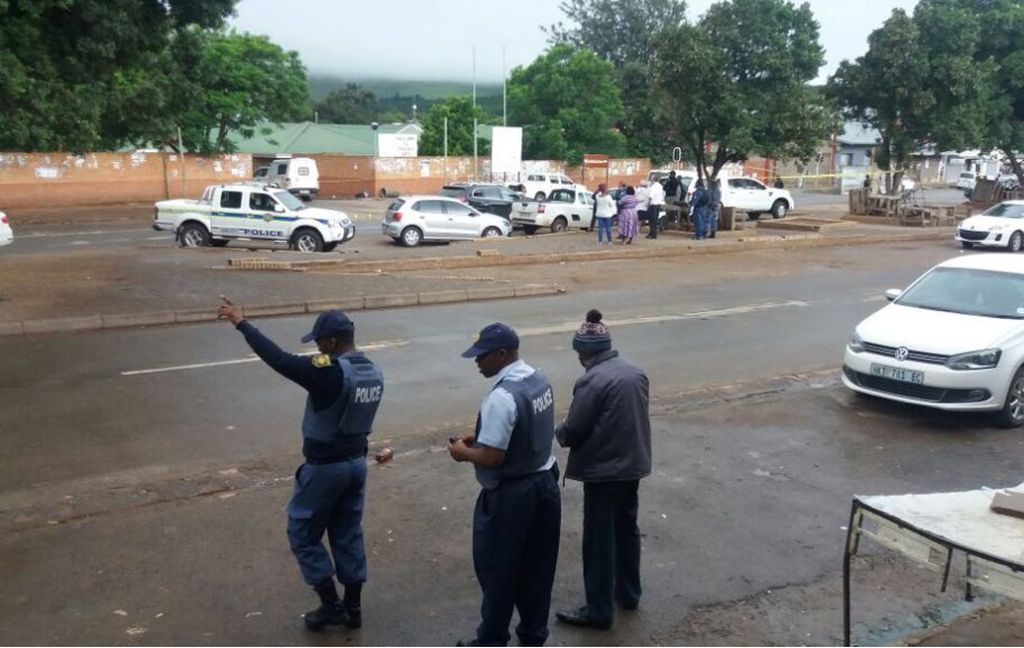 Image result for Shooting crime scene in SA