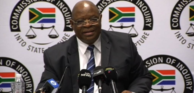 File: State capture inquiry chairperson Deputy Chief Justice Raymond Zondo.