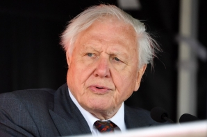 FILE: Britain's Sir David Attenborough attends the naming ceremony of Britain's new polar research ship, the RRS Sir David Attenborough, in Birkenhead, northwest England on September 26, 2019.