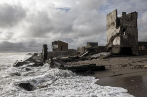 Through the months of July to September, peaking at the equinox, coastal towns like Bargny must brace for the worst, tides are at their highest, rising every year, storms are more frequent, battering the coastline which speeds up the erosion.