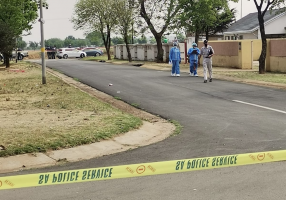 Five suspected cash-in-transit robbers have been shot dead after a shootout with police in Dawn Park, Boksburg on Wednesday.