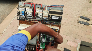 Parts of areas in Dainfern had their electricity switched off, because of illegal connections, bridged meters and tampered meters.