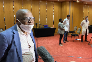 Gauteng Health Head of Department Prof Mkhululi Lukhele speaks with eNCA on 23 May 2020 explaining the role that the 28 Cuban medical brigade will be playing in Gauteng.