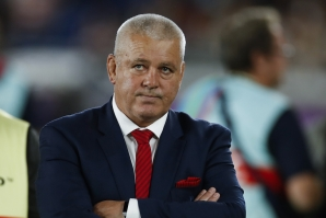 Warren Gatland reacts