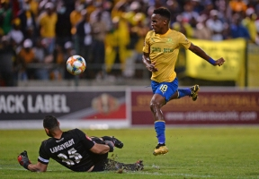 Themba Zwane of Mamelodi Sundowns.