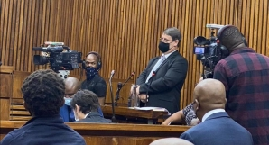 Colonel Johan Venter testifies in his assault case against EFF leaders Julius Malema and Mbuyiseni Ndlozi