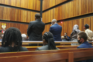 Four former senior Gauteng Health officials are appearing at the Specialised Commercial Crimes Court sitting in Palm Ridge.