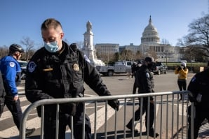 Police on Capitol Hill