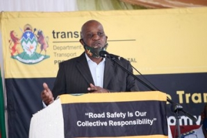 KZN Transport, Community Safety and Liaison MEC Bheki Ntuli