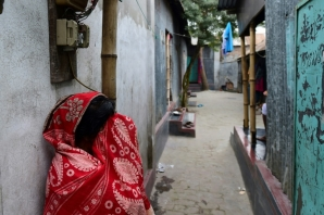Daulatdia is a vast warren of shacks home to around 1,900 prostitutes