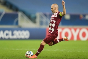 Spanish legend Andres Iniesta enjoys huge popularity in Japan and the 37-year-old has signed a contract extension for a further two years at Vissel Kobe