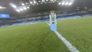 Manchester City drone video celebrates Premier League win