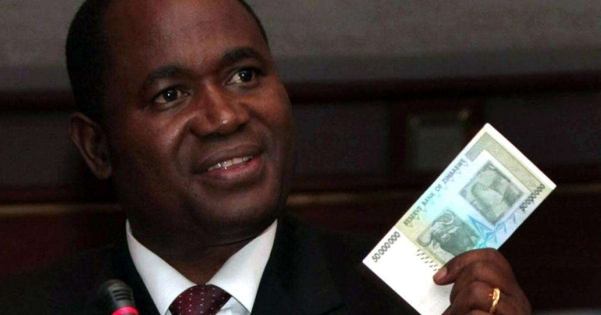 Zimbabwe Central Bank Governor Steps Down As Term Expires