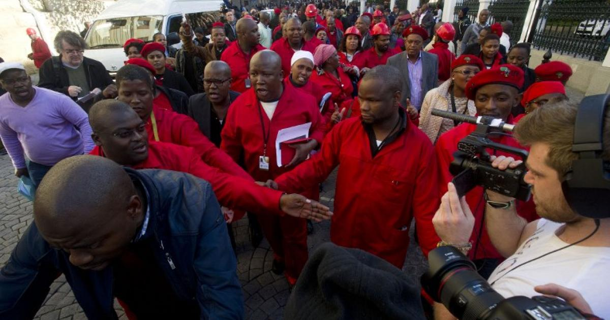 Load Shedding Cape Town Gallery: Malema Calls ANC MPs 'cowards'
