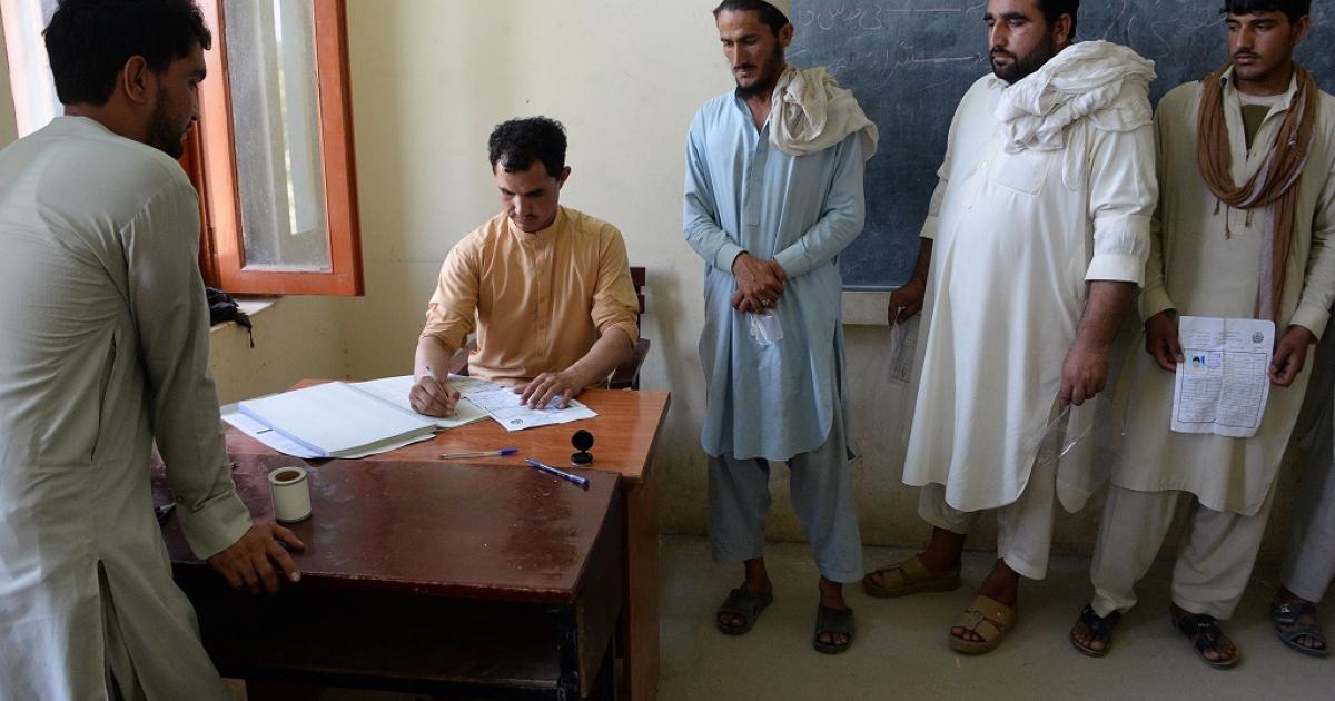 Afghanistan sets date for next presidential election   eNCA