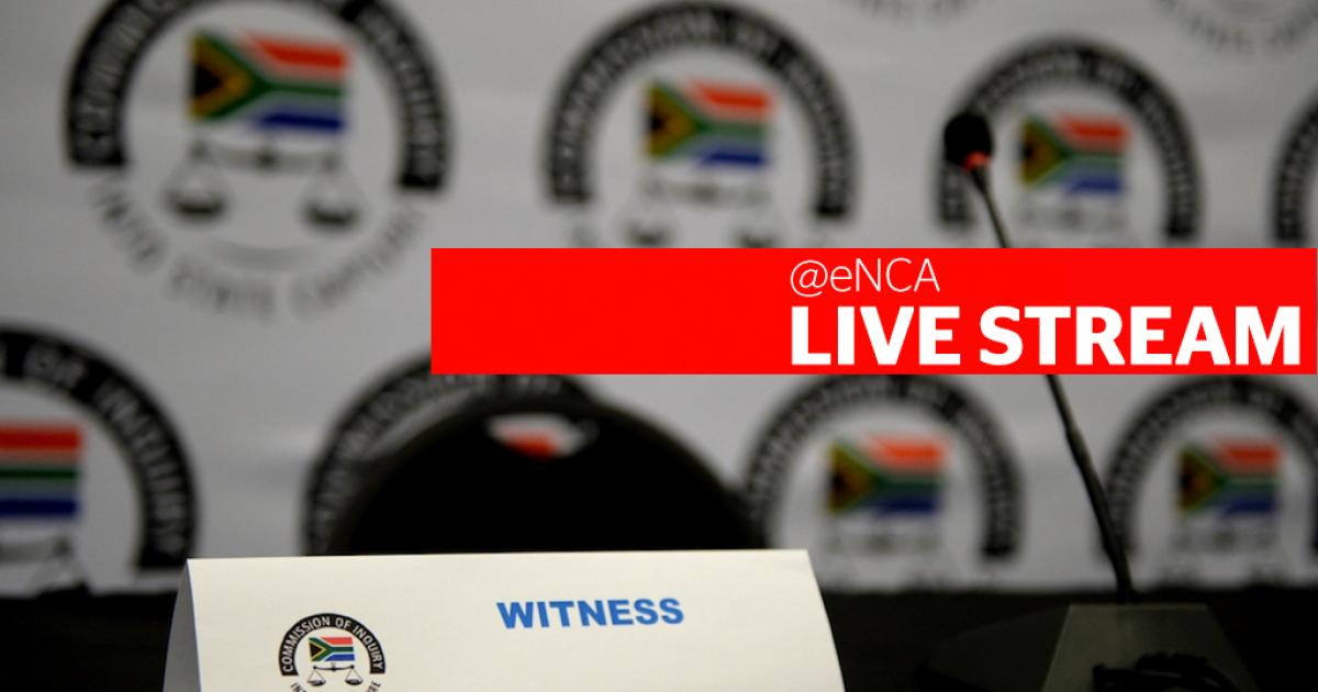 LIVESTREAM: State capture inquiry continues to hear SSA-related testimony - eNCA