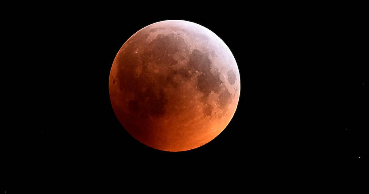 Interpreting the super blood moon