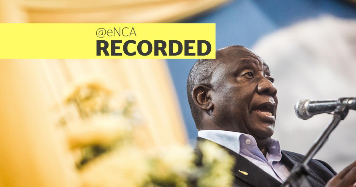 KYK: Ramaphosa skakel met betogers - eNCA